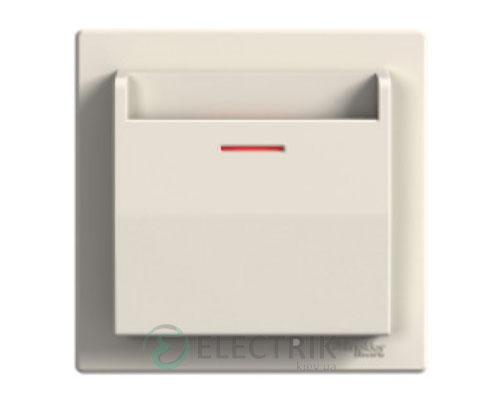 Выключатель карточный, крем, Asfora EPH6200123