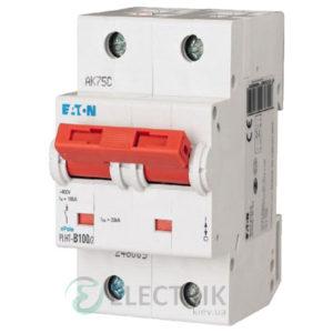 Автоматический выключатель EATON PLHT-C100/2