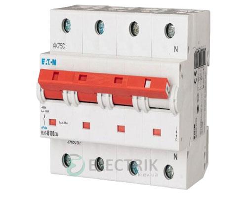Автоматический выключатель EATON PLHT-C100/3N
