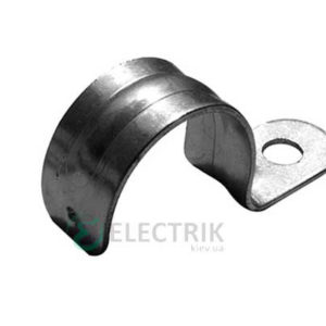 Клипса E.NEXT e.met.clips.stand.25.1s для металлорукава 25 мм односторонняя