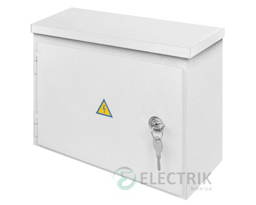 Корпус e.mbox.stand.n.12.z металлический, под 12мод., герметический IP54, навесной, с замком (s0100129)