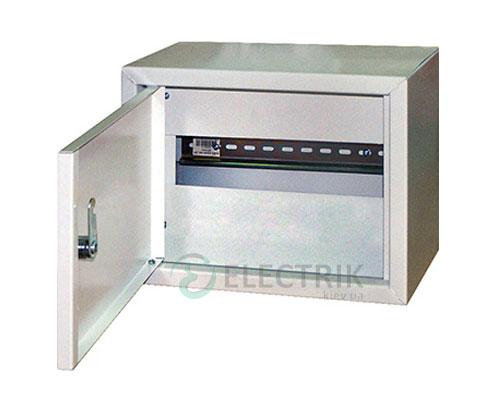 Корпус e.mbox.stand.n.15.z металлический, под 15 мод., навесной, с замком (s0100023)
