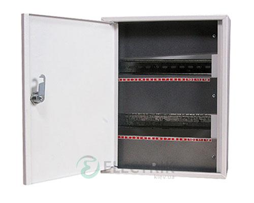 Корпус e.mbox.stand.n.24.z металлический, под 24 мод., навесной, с замком (s0100025)
