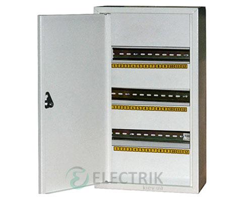 Корпус e.mbox.stand.n.36.z металлический, под 36 мод., навесной, с замком (s0100027)