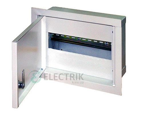 Корпус e.mbox.stand.w.06.z металлический, под 6 мод., встраиваемый, с замком (s0100018)