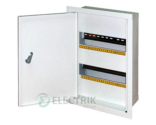 Корпус e.mbox.stand.w.24.z металлический, под 24 мод., встраиваемый, с замком (s0100024)