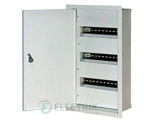 Корпус e.mbox.stand.w.36.z металлический, под 36 мод., встраиваемый, с замком (s0100026)