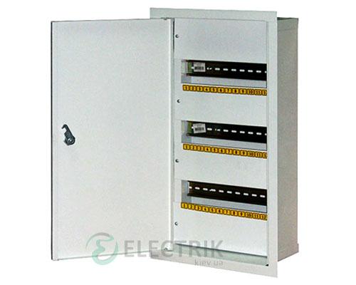 Корпус e.mbox.stand.w.48.z металлический, под 48 мод., встраиваемый, с замком (s0100125)