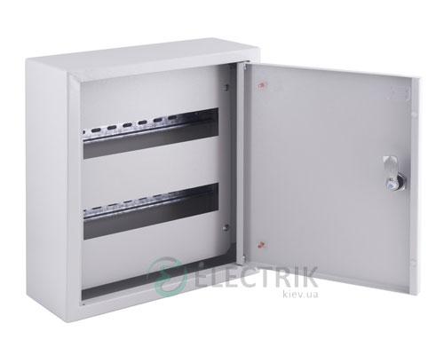 Корпус металлический e.mbox.pro.n.24z IP31 навесной на 24 модуля с замком (s0100203