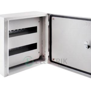 Корпус металлический e.mbox.pro.n.24z IP54 навесной на 24 модуля с замком (s0100216)