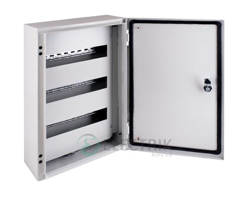 Корпус металлический e.mbox.pro.n.36z IP54 навесной на 36 модулей с замком (s0100217)