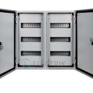 Корпус металлический e.mbox.pro.n.72z IP54 навесной на 72 модуля с замком (s0100220)