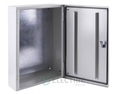 Корпус металлический e.mbox.pro.p.40.30.20z IP54 с монтажной панелью (400х300х200)