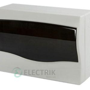 Корпус пластиковый 12-модульный e.plbox.stand.n.12m, навесной с дверкой