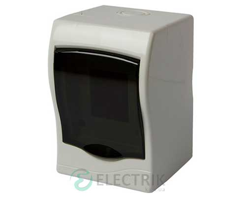 Корпус пластиковый 2-модульный e.plbox.stand.n.02m, навесной
