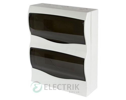 Корпус пластиковый 24-модульный e.plbox.stand.n.24m, навесной