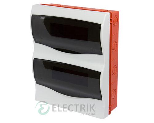 Корпус пластиковый 24-модульный e.plbox.stand.w.24m, встраиваемый