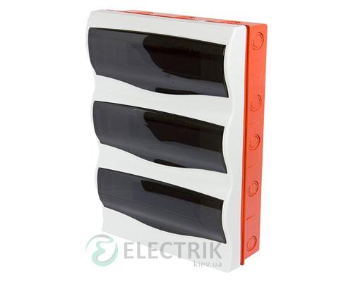 Корпус пластиковый 36-модульный e.plbox.stand.w.36m, встраиваемый