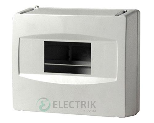 Корпус пластиковый 4-модульный e.plbox.stand.04, без дверки