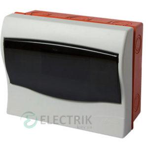 Корпус пластиковый 9-модульный e.plbox.stand.w.09m, встраиваемый