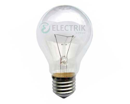 Лампа накаливания местного освещения (МО) 60 Вт 24В E27