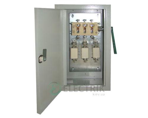 Ящик ЯПРП-250 BILMAX (рубильник+предохранители) IP31