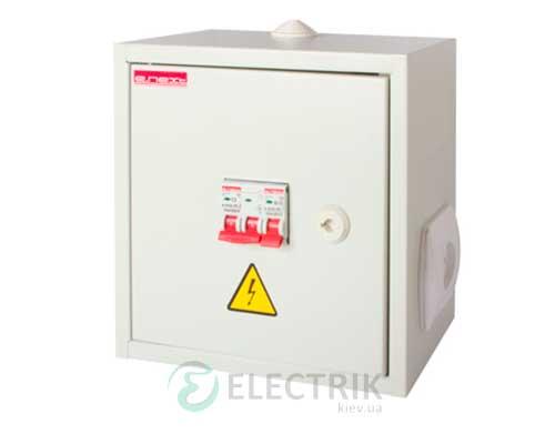 Ящик с понижающим трансформатором ЯТП-0,25 220 12В IP31