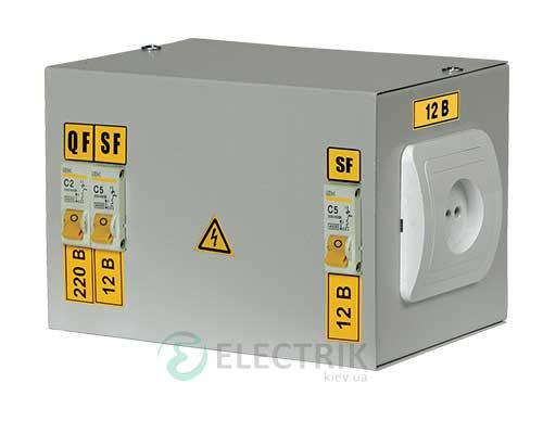 Ящик с понижающим трансформатором ЯТП-0,25 230/24-3 36 УХЛ4 IP30 IEK