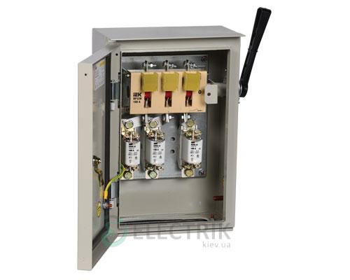 Ящик с рубильником и предохранителями ЯРП-100А 74 У2 IP54 UA IEK