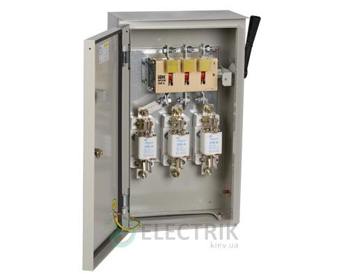 Ящик с рубильником и предохранителями ЯРП-250А 36 УХЛ3 IP31 UA IEK
