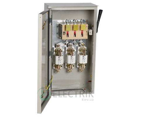 Ящик с рубильником и предохранителями ЯРП-400А 36 УХЛ3 IP31 UA IEK