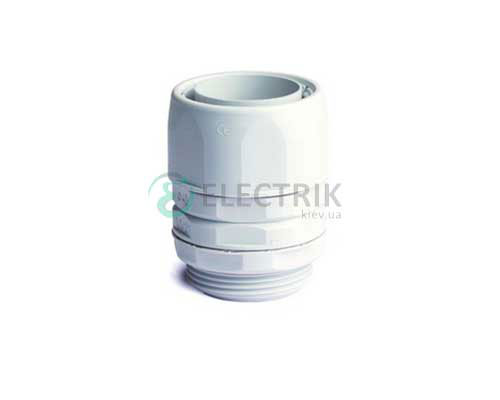 Переходник армированная труба-коробка, IP65, 1, д.28мм 55128 ДКС