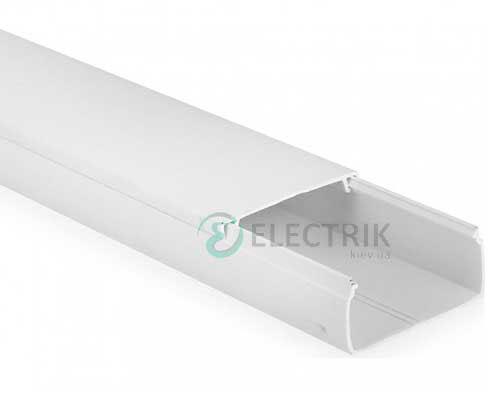 Кабель-канал 30/2×10 мм «ЭЛЕКОР» белый, IEK