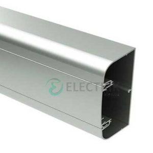 Кабель-канал алюминиевый 90х50 мм (с 1 крышкой), цвет белый RAL9016 19599 ДКС