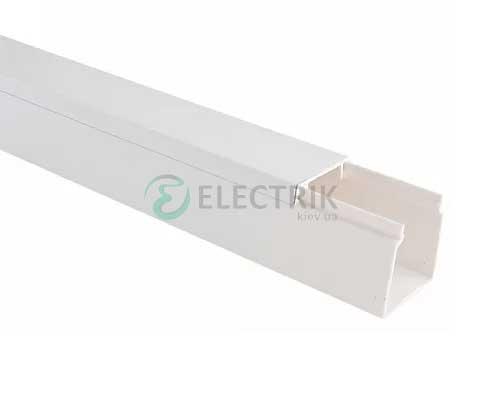 Кабель-канал пластиковый 16×16, 2000 мм, АСКО-УКРЕМ