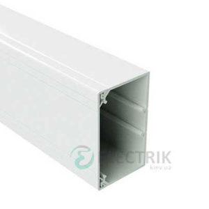 Короб TA-GN 60x60 с направляющими, длина 2м, цвет белый RAL9001 01784 ДКС