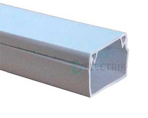 Короб кабельный пластиковый 12×12 мм (2 м) e.trunking.stand.12.12, E.NEXT