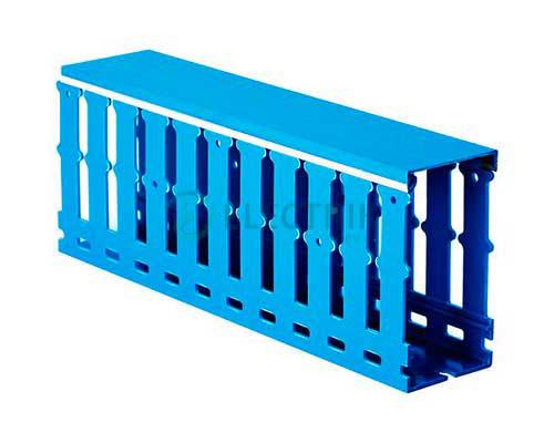 Короб перфорированный, синий RL12 25x80, 01137RL