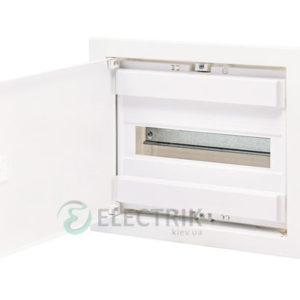 Металлопластиковый электрощит ECG14 12+2 М с металлической белой дверцей ETI 001101025