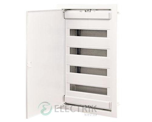 Металлопластиковый электрощит ECG56 48+8 М с металлической белой дверцей ETI 001101028