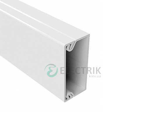 Миниканал TMC 50/2x20 с перегородкой, цвет белый RAL9016 00314 ДКС