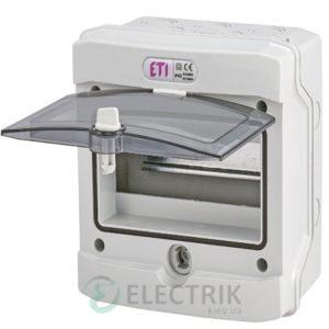 Пластиковый щит наружного исполнения ECH-8Gu (8 М IP65) ETI 001101171