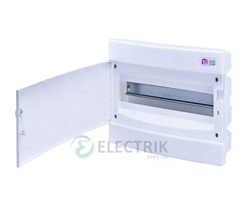 Встраиваемый щиток ECМ 18PO 18 М с белой дверцей ETI 001101019