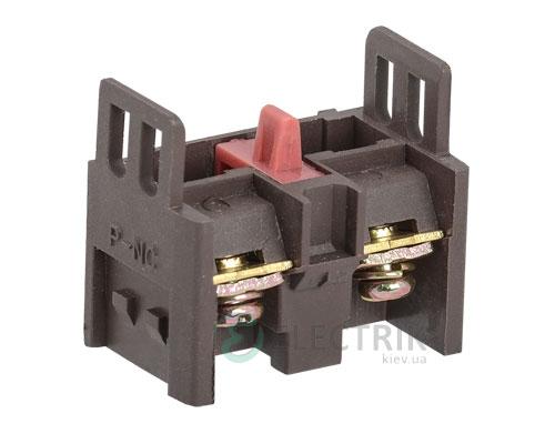 Дополнительный контакт для светосигнальной арматуры 1НЗ, IEK