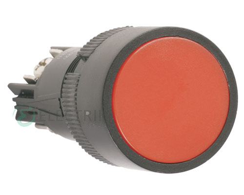 """Кнопка SB-7 """"Стоп"""" d22 мм красная 240В 1з, IEK"""