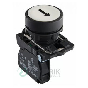 Кнопка без фиксации (1НО) белая TB5-AA3341, АСКО-УКРЕМ