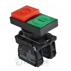 Кнопка двойная «ПУСК/СТОП» без фиксации (1НО+1НЗ) TB5-AL8425, АСКО-УКРЕМ