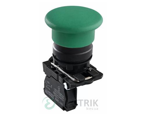 Кнопка «грибок» (d 40 мм) без фиксации (1НО) зеленая TB5-AC31, АСКО-УКРЕМ