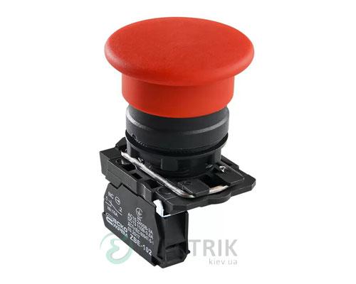 Кнопка «грибок» (d 40 мм) без фиксации (1НЗ) красная TB5-AC42, АСКО-УКРЕМ