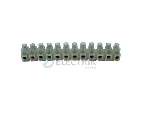 Колодка клеммная делимая 16 мм² / 30А (12 групп) e.tc.stand.12.16, E.NEXT